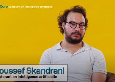 Youssef Skandrani partage son expérience.